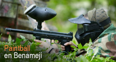 Paintball en Benamejí